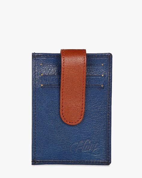 Lebach Wallet With Credit Card Holder By Harp ( Blue )