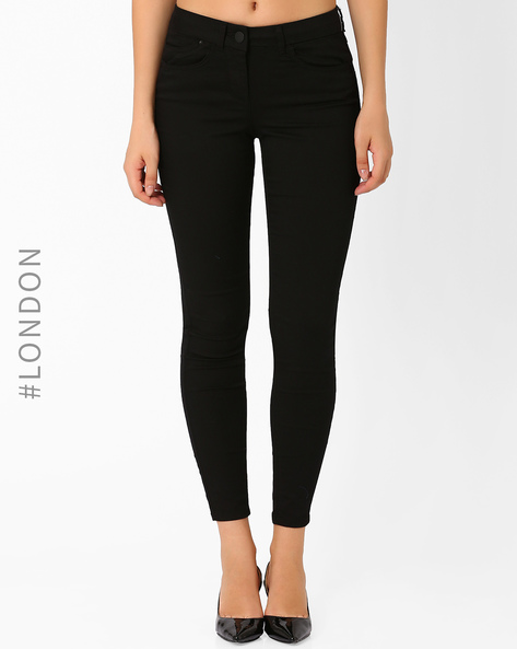 Low-Rise Jeggings By Marks & Spencer ( Black )