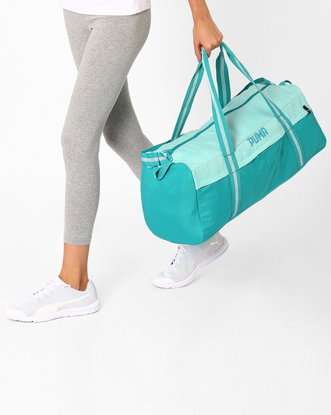 Gym Bag With Adjustable Strap By Puma ( Turquoise )