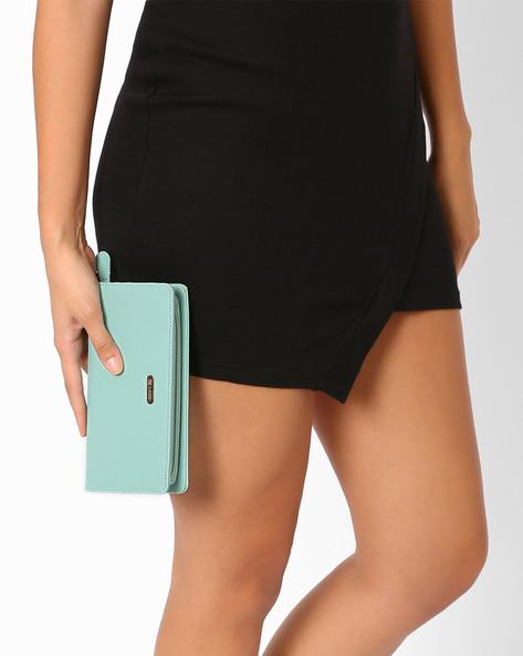 Zip-Around Wallet By Lavie ( Blue )