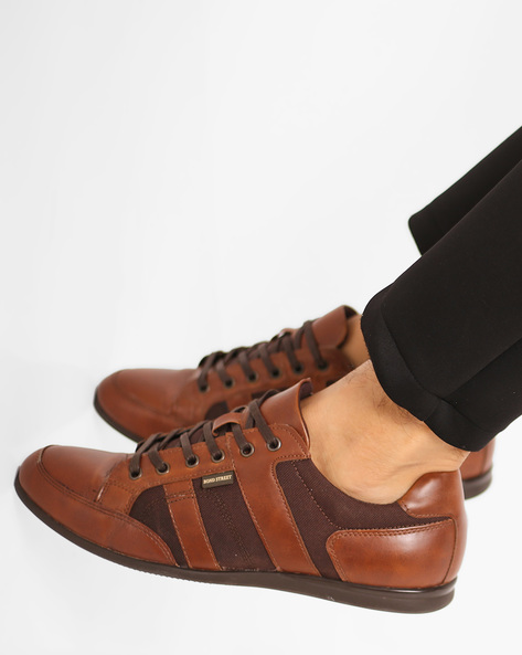 Low-Top Lace-Up Shoes By Bond Street By Red Tape ( Tan ) - 460159057001
