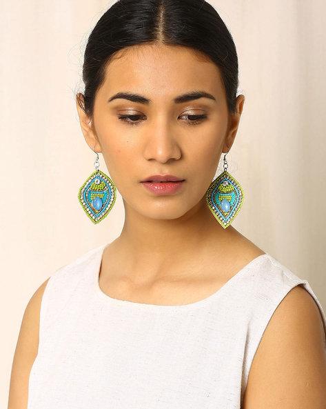 Beaded Dangler Earrings By Indie Picks ( Multi ) - 460017838001
