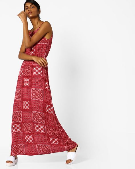 All-Over Print Maxi Dress By Oxolloxo ( Multicolor )