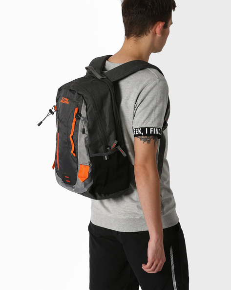 Backpack With Laptop Sleeve By FLYING MACHINE ( Multicolour )