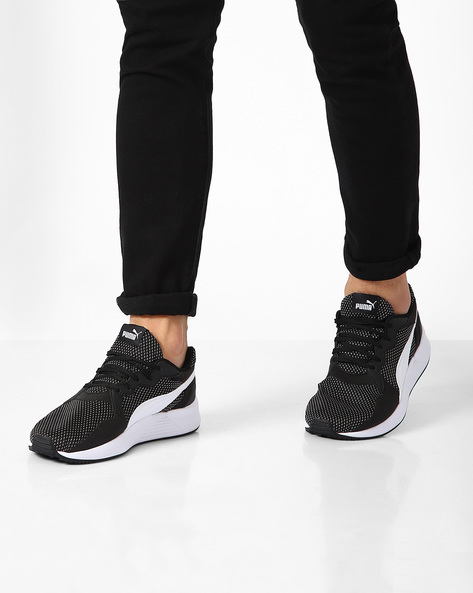Pacer Plus Sneakers By Puma ( Black )