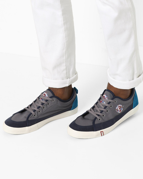 Panelled Lace-Up Shoes By Lee Cooper ( Gryblu )