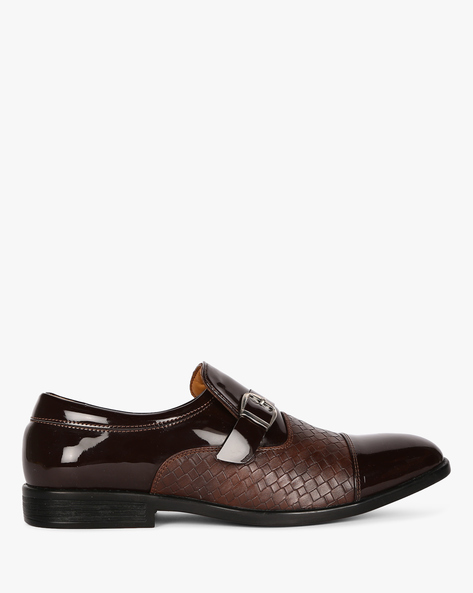 Monk Casual Shoes By ESCARO ( Brown )