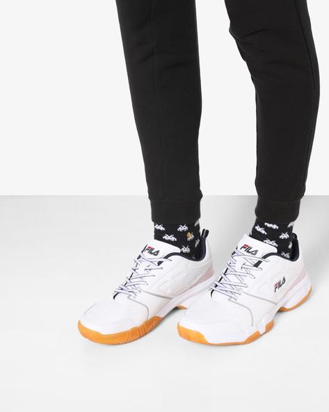 Becker Tennis Shoes By FILA ( White )
