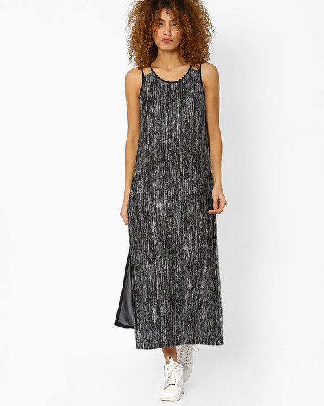 Long Tunic With Sheer Back By And ( Grey )
