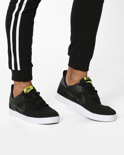 Liteforce Lace-Up Canvas Shoes By NIKE ( White )