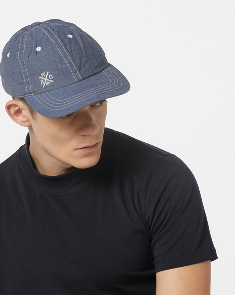 Baseball Cap With Signature Branding By WRANGLER ( Blue )