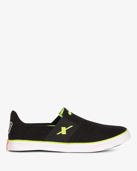 Slip-On Casual Shoes By SPARX ( Black )