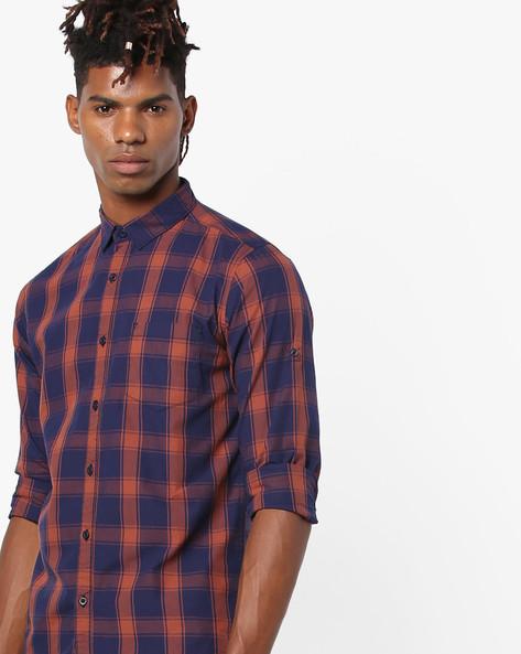 Yarn-Dyed Checked Shirt By Highlander ( Multi ) - 460147232001