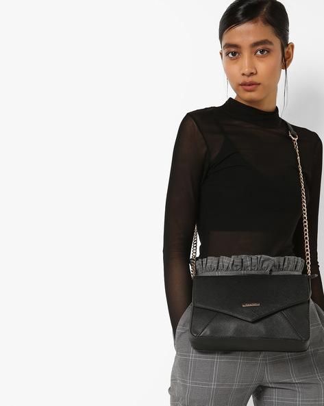 Envelope Cross-Body Bag By Diana Korr ( Black )