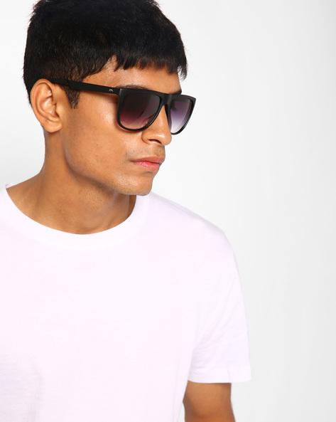 Gradient Wayfarer Sunglasses By Farenheit ( Blue )