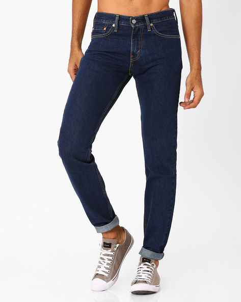 511 Low-Rise Slim Fit Jeans By LEVIS ( Blue ) - 460027930006