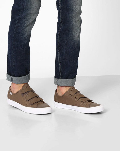 Low-Top Prison Issue Shoes By Vans ( Brown )