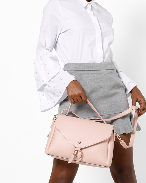 Sling Bag With Short Handle By Project Eve ( Multi )