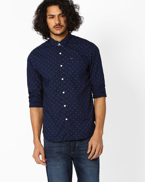 Regular Fit Printed Shirt By FLYING MACHINE ( Assorted )