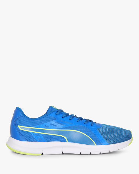 Felix Runner IDP Lace-Up Sports Shoes By Puma ( Blue )