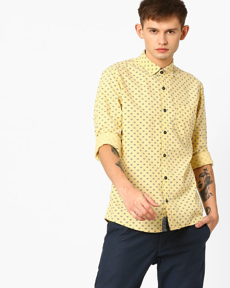 Slim Fit Printed Shirt By Killer ( Assorted )