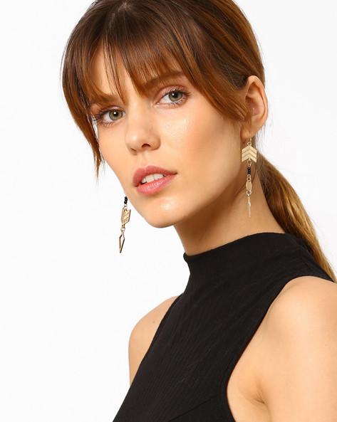 Beaded Drop-Earrings By Pipa Bella ( Gold ) - 460073710001