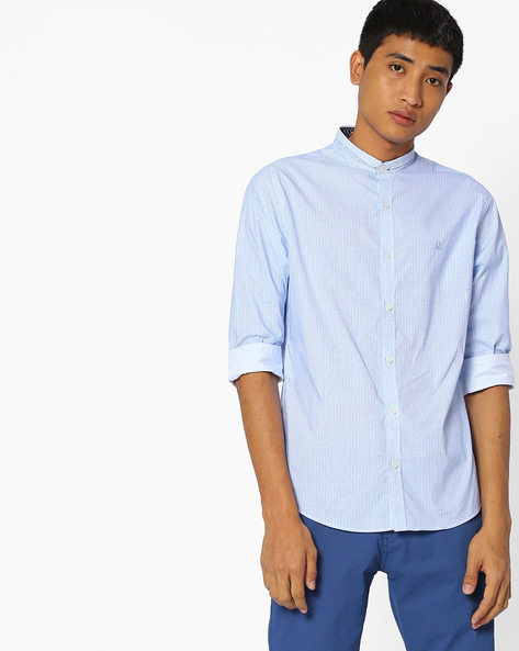 Striped Slim Fit Shirt By UNITED COLORS OF BENETTON ( Assorted )