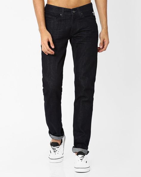 Slim Fit Quincy Ht Jeans By Pepe Jeans ( Blue )