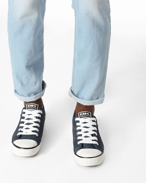 Colourblock Casual Shoes By British Knights ( Navy )