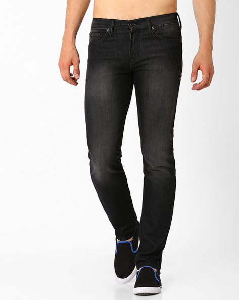 511 Low-Rise Slim Fit Jeans By LEVIS ( Blue )