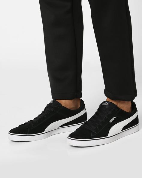 1948 Vulc Suede Sneakers By Puma ( Black )