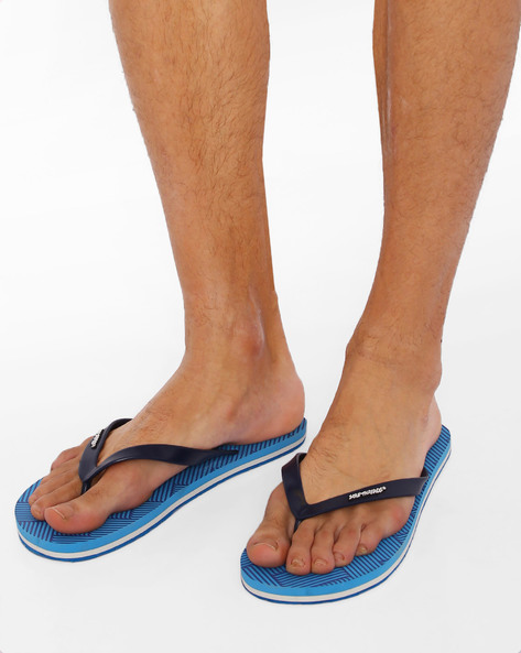 Thong-Style Dublin Flip-Flops By Sole Threads ( Blue )