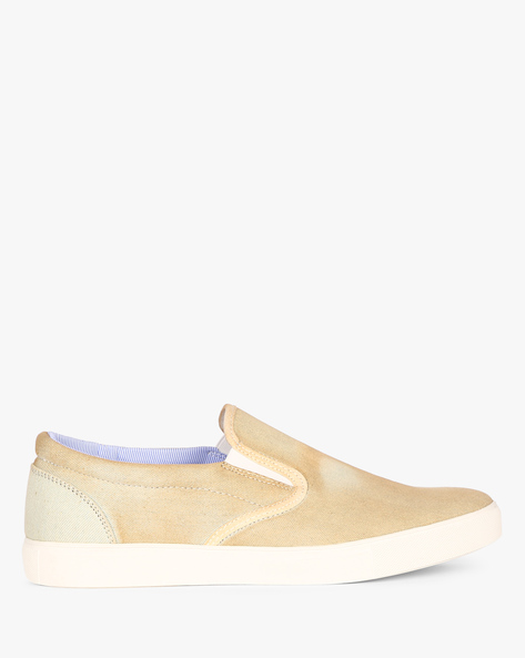 Slip-On Sneakers With Elasticated Gussets By Nuboy ( Lightblue )