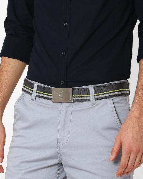 Works Webbed Belt By Puma ( Green )