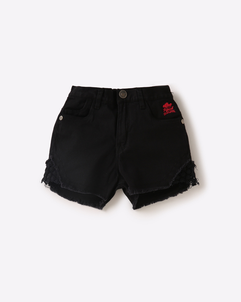 Shorts With Lace Panels By GINI & JONY ( Assorted ) - 440770251010