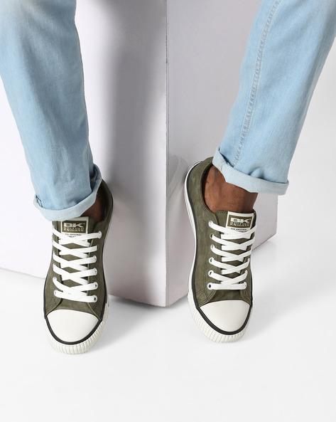 Colourblock Casual Shoes By British Knights ( Khaki )