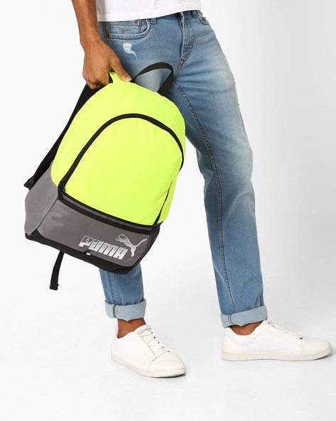 Phase Backpack II By Puma ( Yellow )