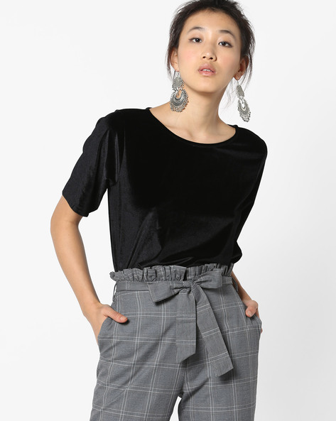 Relaxed Fit Top By Only ( Black )