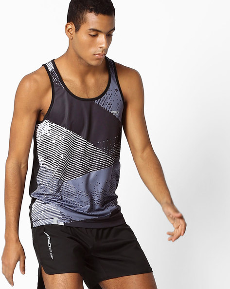 GO DRY Sleeveless T-shirt By 2Go ( Black )
