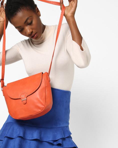 LXE4 Lizzie Y G E Carmin Sling Bag By BAGGIT ( Orange )