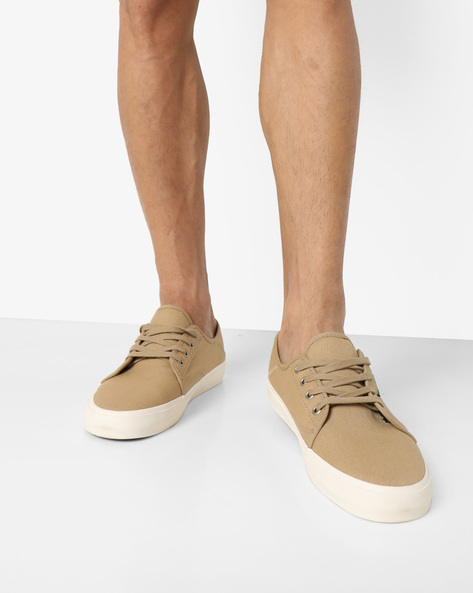 Costa Mesa SF Canvas Sneakers By Vans ( Khaki )