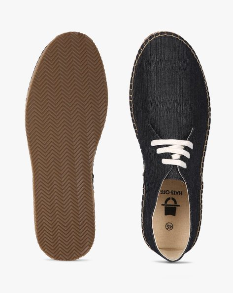 Lace-Up Espadrilles By Hats Off Accessories ( Black )
