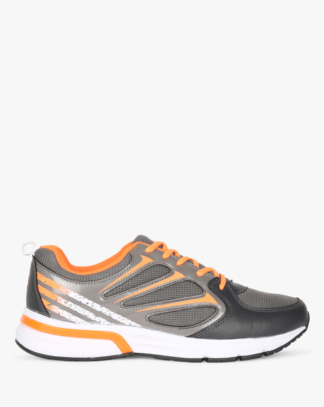 Panelled Colourblock Sports Shoes By DUKE ( Grey )