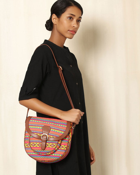 Digital Print Sling Bag By All Things Sundar ( Multi ) - 460040289001