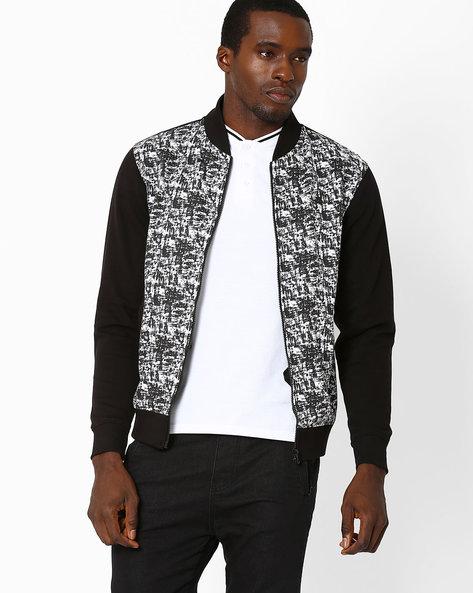 Printed Regular Fit Sweatshirt By WRANGLER ( Black )