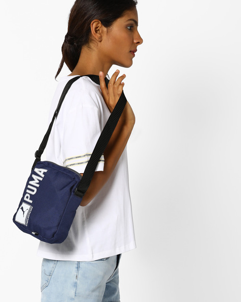 Pioneer Portable Sling Bag By Puma ( Navy )