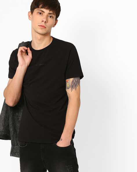 Slim Fit Crew-Neck T-shirt By GAS ( 0200 )