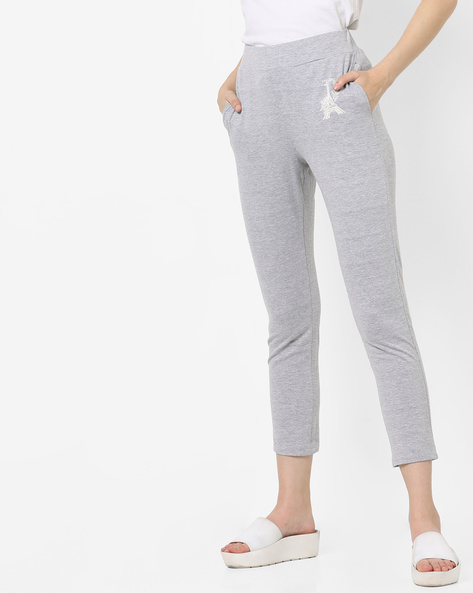 Pyjamas With Elasticated Waist By Mystere Paris ( Grey )