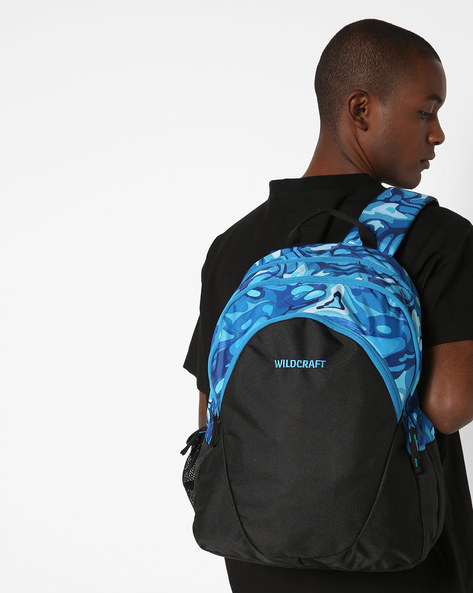 Colourblock Everyday Backpack By Wildcraft ( Blue )