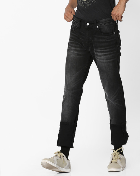 511 Mid-Wash Slim Fit Jeans By LEVIS ( Black )